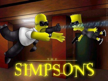 Papel de parede The Simpsons Matrix para download gratuito. Use no computador pc, mac, macbook, celular, smartphone, iPhone, onde quiser!