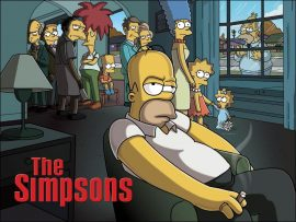 Papel de parede The Simpsons ou Sopranos?