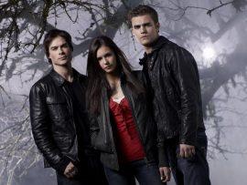 Papel de parede The Vampire Diaries – Amor se Escreve com Sangue