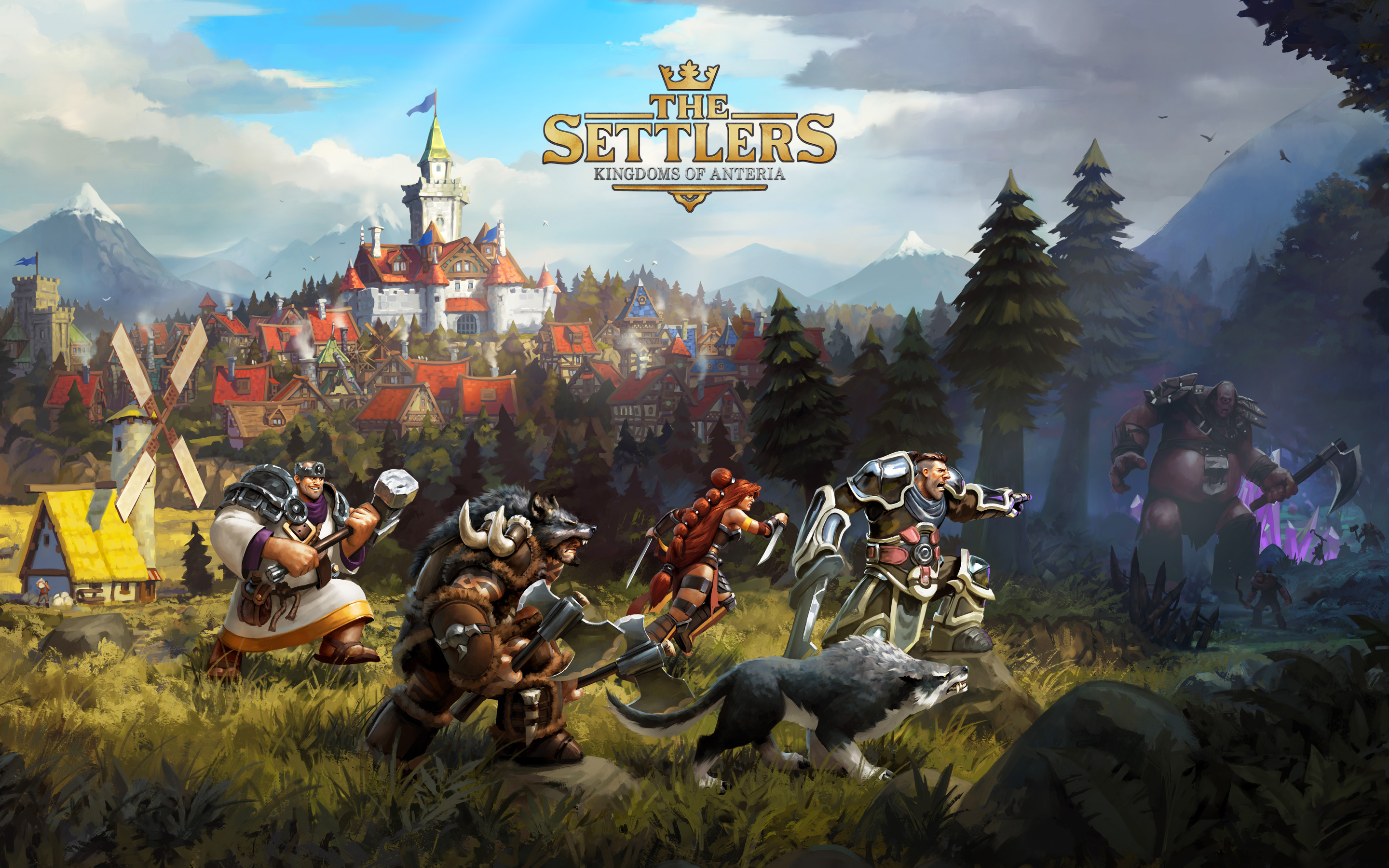 Papel de parede The Settlers – Kingdoms of Anteria para download gratuito. Use no computador pc, mac, macbook, celular, smartphone, iPhone, onde quiser!