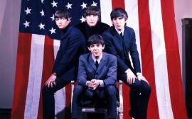 Papel de parede The Beatles, Bandeira Americana