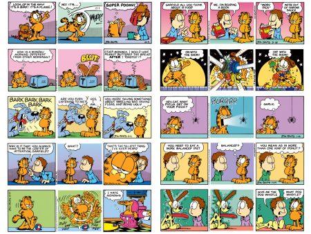 Papel de parede Tirinhas do Garfield para download gratuito. Use no computador pc, mac, macbook, celular, smartphone, iPhone, onde quiser!