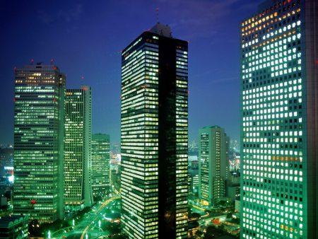 Papel de parede Tokio noturna para download gratuito. Use no computador pc, mac, macbook, celular, smartphone, iPhone, onde quiser!