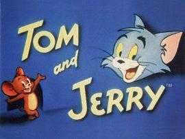 Papel de parede Tom & Jerry – Desenho Antigo