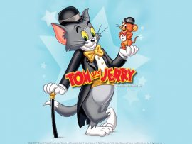 Papel de parede Tom & Jerry – Legal