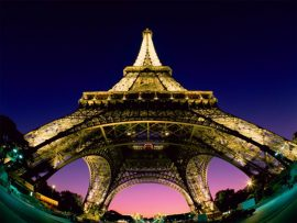 Papel de parede Torre Eiffel – Ângulo