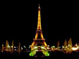 Papel de parede Torre Eiffel – Fontes