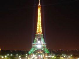 Papel de parede Torre Eiffel – Iluminada