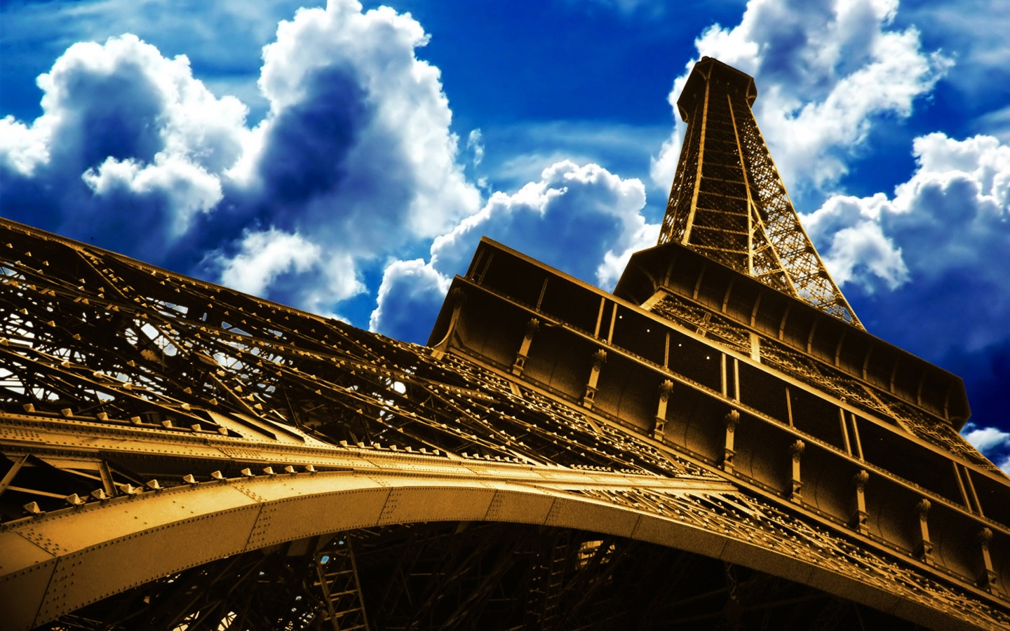 Papel de parede torre eiffel paris wallpaper para for Torre enfel