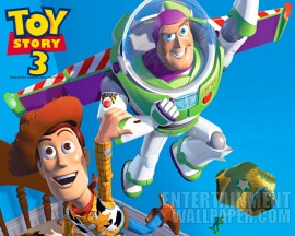 Papel de parede Toy Story -Woody e Buzz