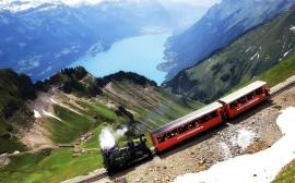 Papel de parede Trêm Antigo da Suíça