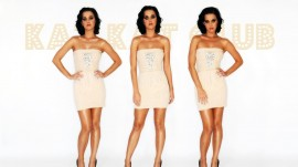 Papel de parede Três Vezes Katy Perry
