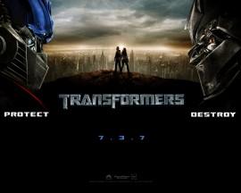 Papel de parede Transformers – Poster Divulgação