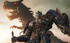 Papel de parede Transformers 4: Optimus Prime e Grimlock