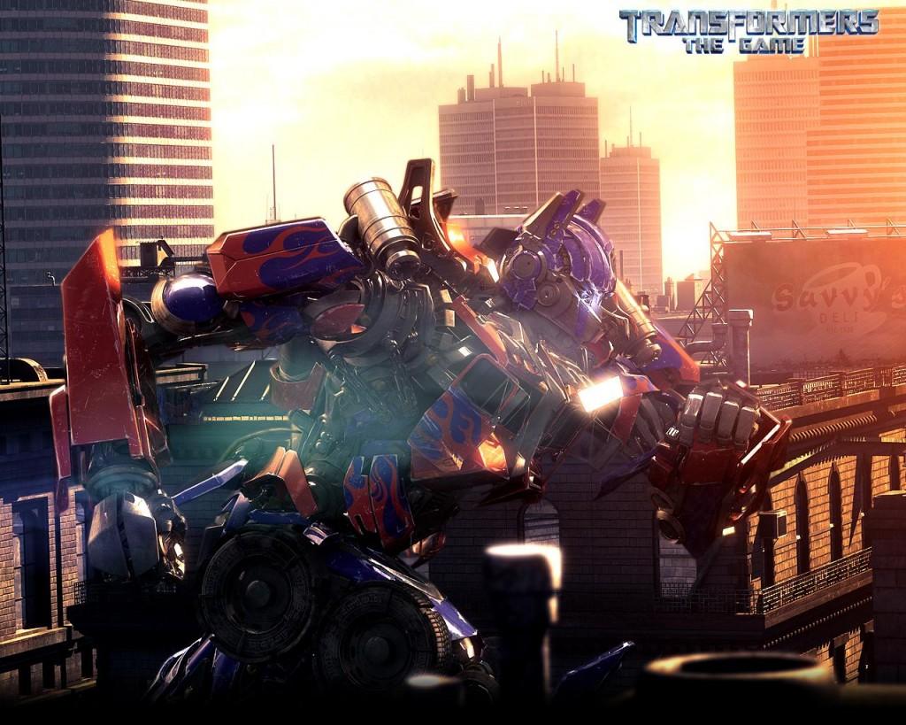 Papel de parede Transformers – Optimus Prime Cena para download gratuito. Use no computador pc, mac, macbook, celular, smartphone, iPhone, onde quiser!