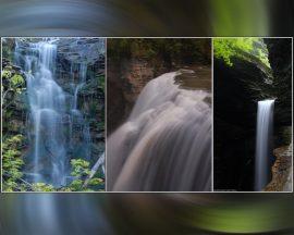 Papel de parede Três Cachoeiras