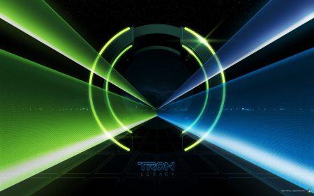 Papel de parede Tron: O Legado – Azul e verde para download gratuito. Use no computador pc, mac, macbook, celular, smartphone, iPhone, onde quiser!