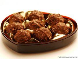Papel de parede Trufa – Chocolate