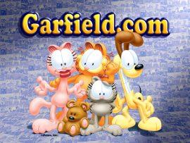 Papel de parede Turma do Garfield