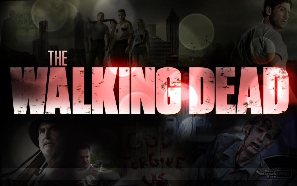 Papel de parede The Walking Dead: Logotipo para download gratuito. Use no computador pc, mac, macbook, celular, smartphone, iPhone, onde quiser!