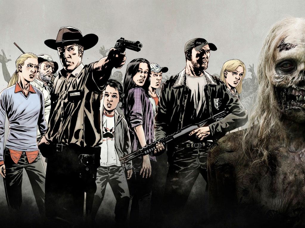 Papel De Parede The Walking Dead Quadrinhos Wallpaper Para