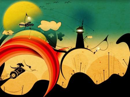 Papel de parede Uma Viagem para A Fantasia para download gratuito. Use no computador pc, mac, macbook, celular, smartphone, iPhone, onde quiser!