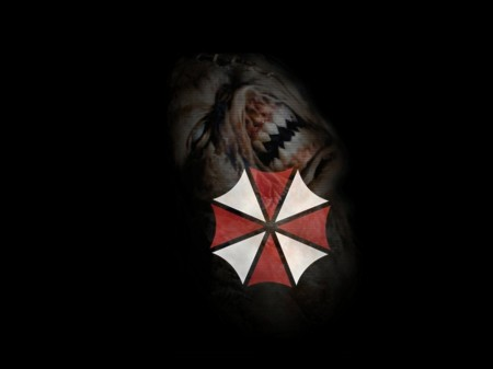 Papel de parede Umbrella Resident Evil para download gratuito. Use no computador pc, mac, macbook, celular, smartphone, iPhone, onde quiser!