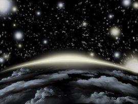 Papel de parede Universo 3D
