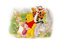 Papel de parede Ursinho Pooh