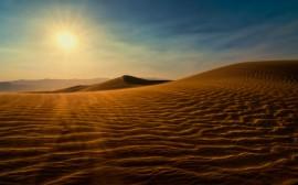 Papel de parede Vale da Morte Ao Pôr-do-Sol