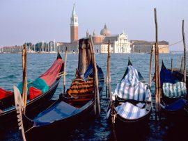 Papel de parede Veneza – Barcos