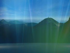 Papel de parede Vista da Montanha