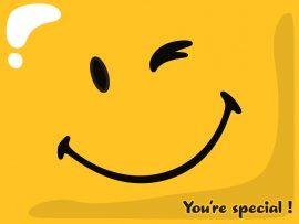 Papel de parede Você é Especial