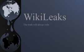 Papel de parede WikiLeaks