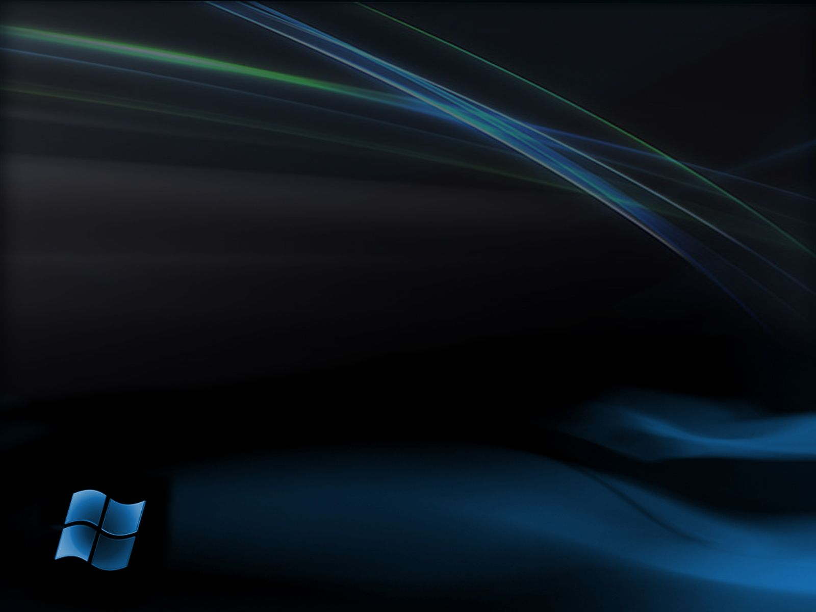 Papel De Parede Windows 7 Preto Wallpaper Para Download No