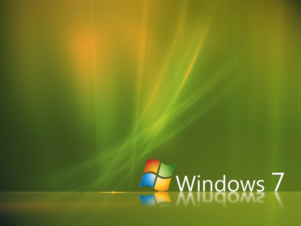 Papel De Parede Windows 7 Verde Wallpaper Para Download No