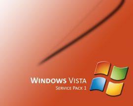 Papel de parede Windows Vista Laranja Desktop