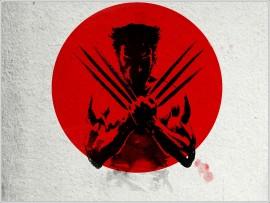 Papel de parede Wolverine na Bandeira do Japão