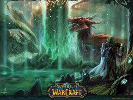 Papel de parede World of Warcraft – Cenários incríveis