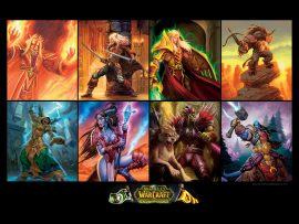 Papel de parede World of Warcraft – Personagens