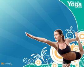 Papel de parede Yoga – Exercício