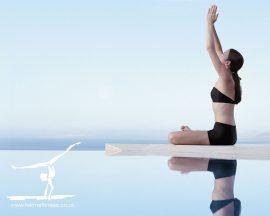 Papel de parede Yoga – Na Praia