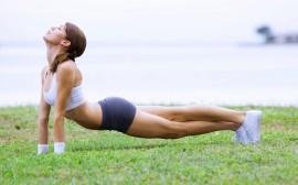 Papel de parede Yoga ao Ar Livre