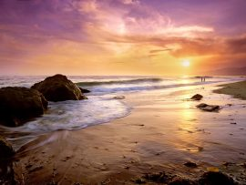 Papel de parede Zuma Beach California